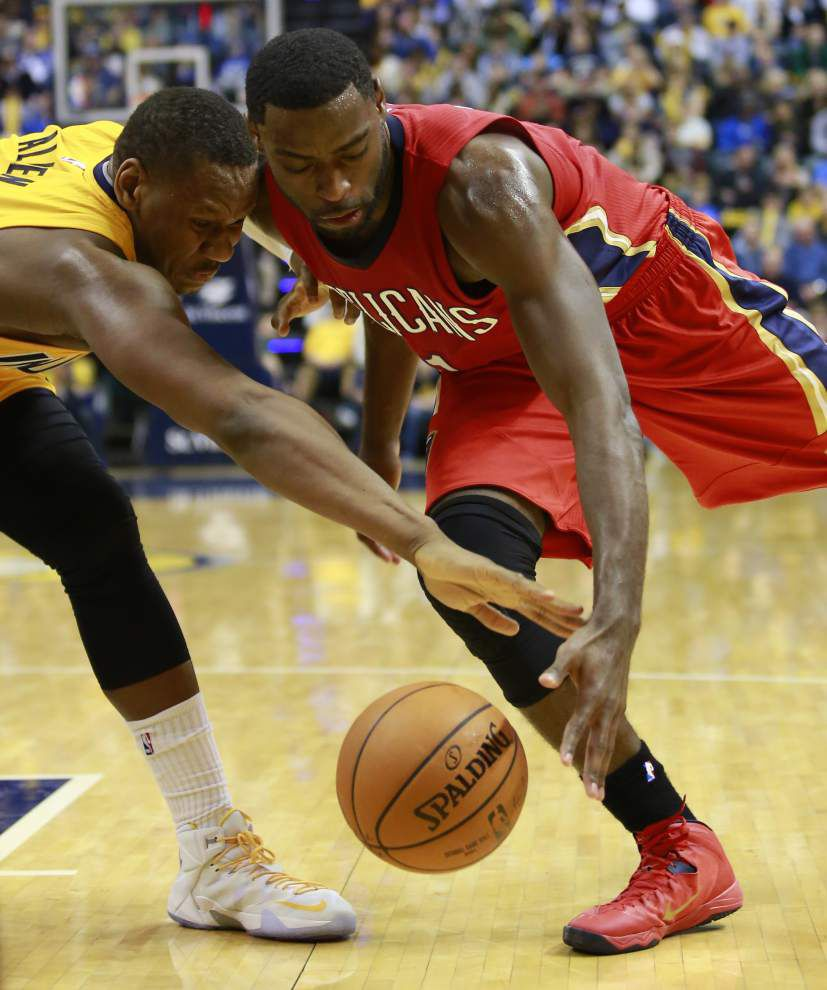 Pelicans didn't respond to Pacers' physical play _lowres