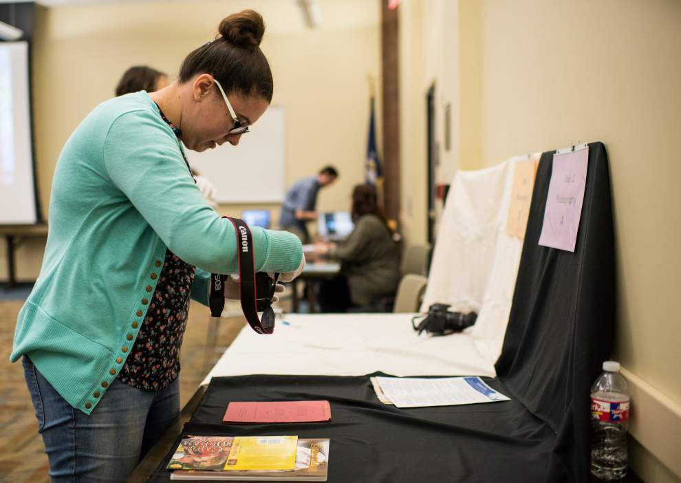 UL-Lafayette students 'harvest' pieces of Louisiana's French history at public library event _lowres