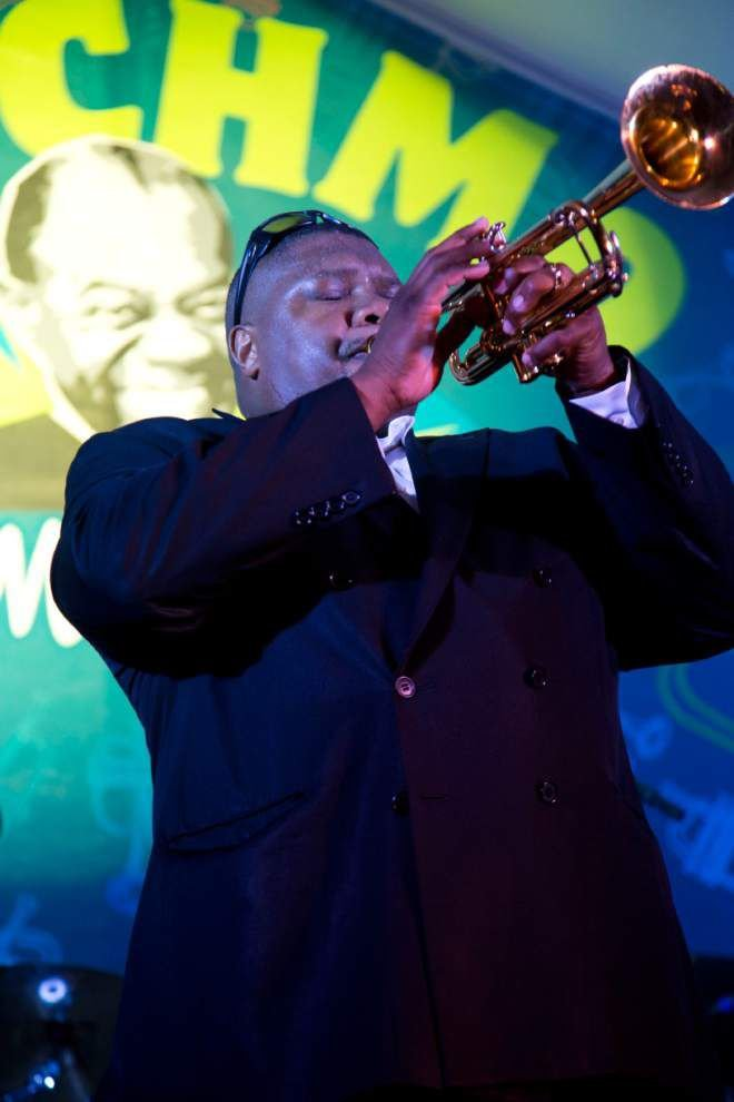 Inspired by Armstrong, jazz virtuoso returns to Satchmo stage _lowres