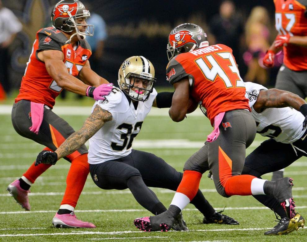 The Saints are still searching for a defined role for safety Kenny Vaccaro this season _lowres