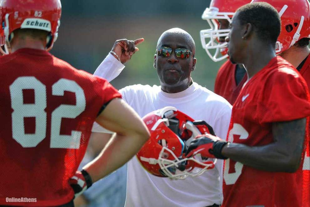 Georgia assistant Tony Ball hired as LSU's new receivers coach: 'Timing was right' _lowres