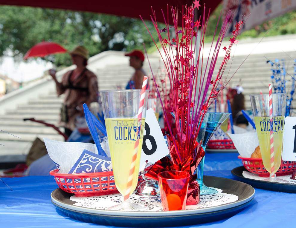 Photos: French Market Annual Bartender and Waiters Race _lowres