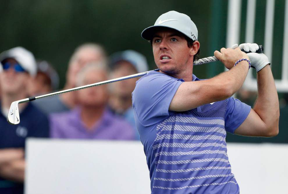 Golf roundup: Rory McIlroy has share of lead at BMW Championship _lowres