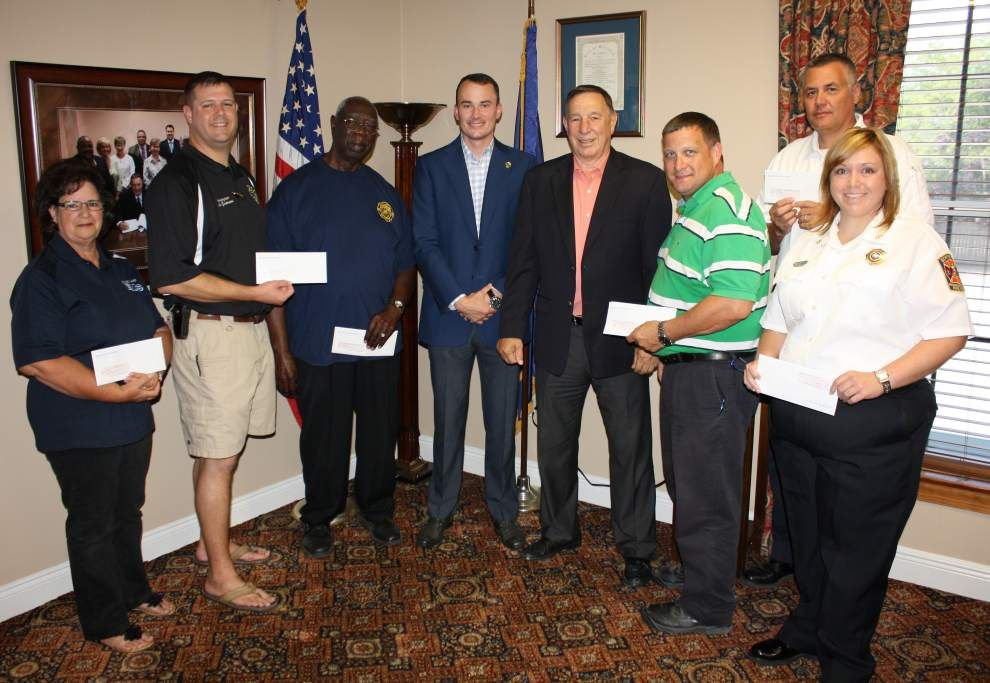 Ascension fire departments get insurance rebates _lowres