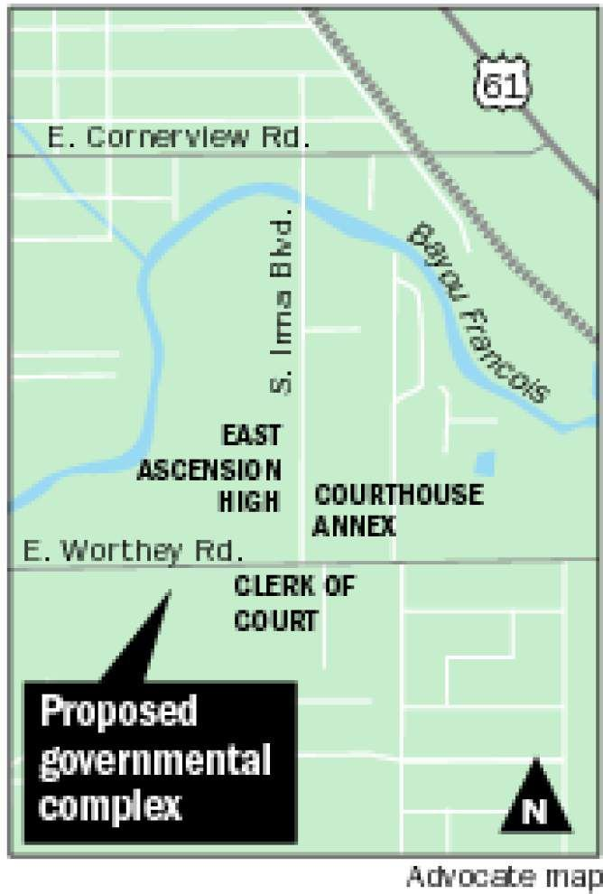 Bids high on Ascension government building, officials look for savings _lowres