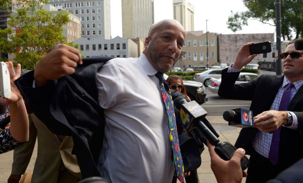 Nagin silent as he leaves federal court _lowres