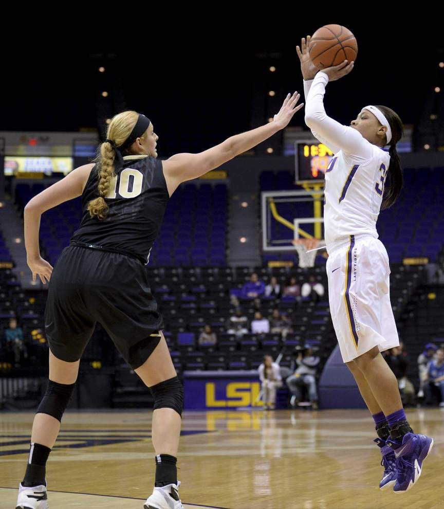 LSU guard Danielle Ballard named SEC Player of the Week _lowres