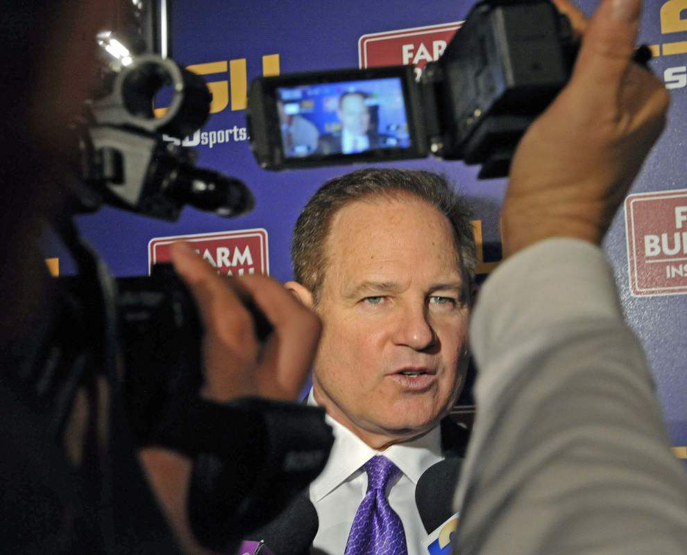 Video: LSU coach Les Miles excited about the additions of Kevin Steele and Ed Orgeron to his coaching staff _lowres