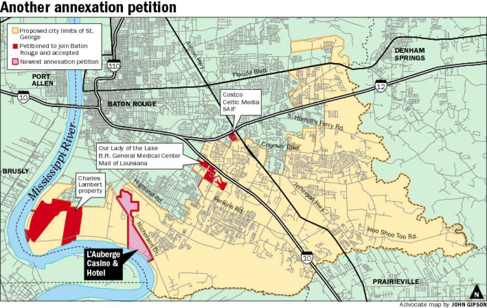 BR annexation request could cut land off from St. George _lowres