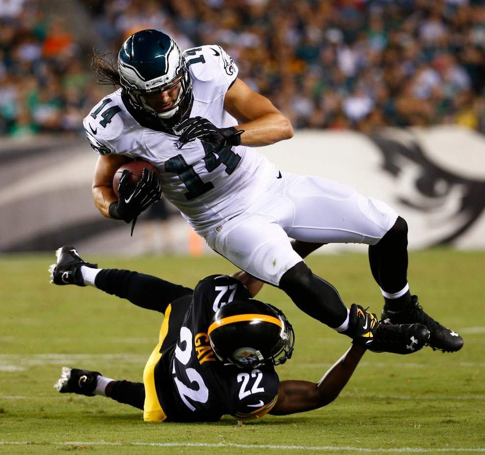 Nick Foles, Eagles sharp in exhibition win _lowres