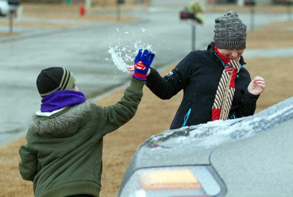 Photos: New Orleans Ice & Snow _lowres