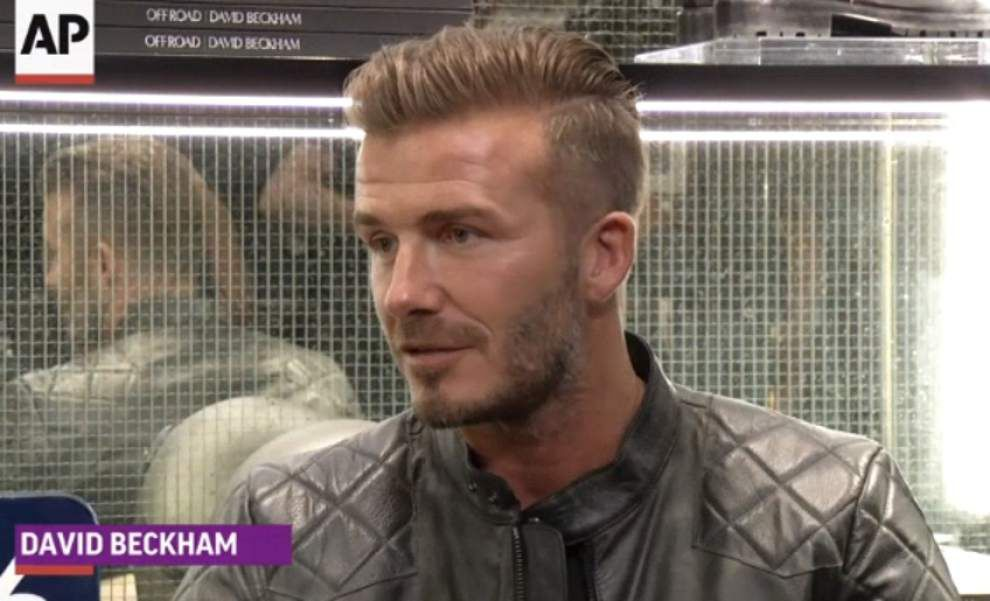 David Beckham dabbles in design with Belstaff _lowres