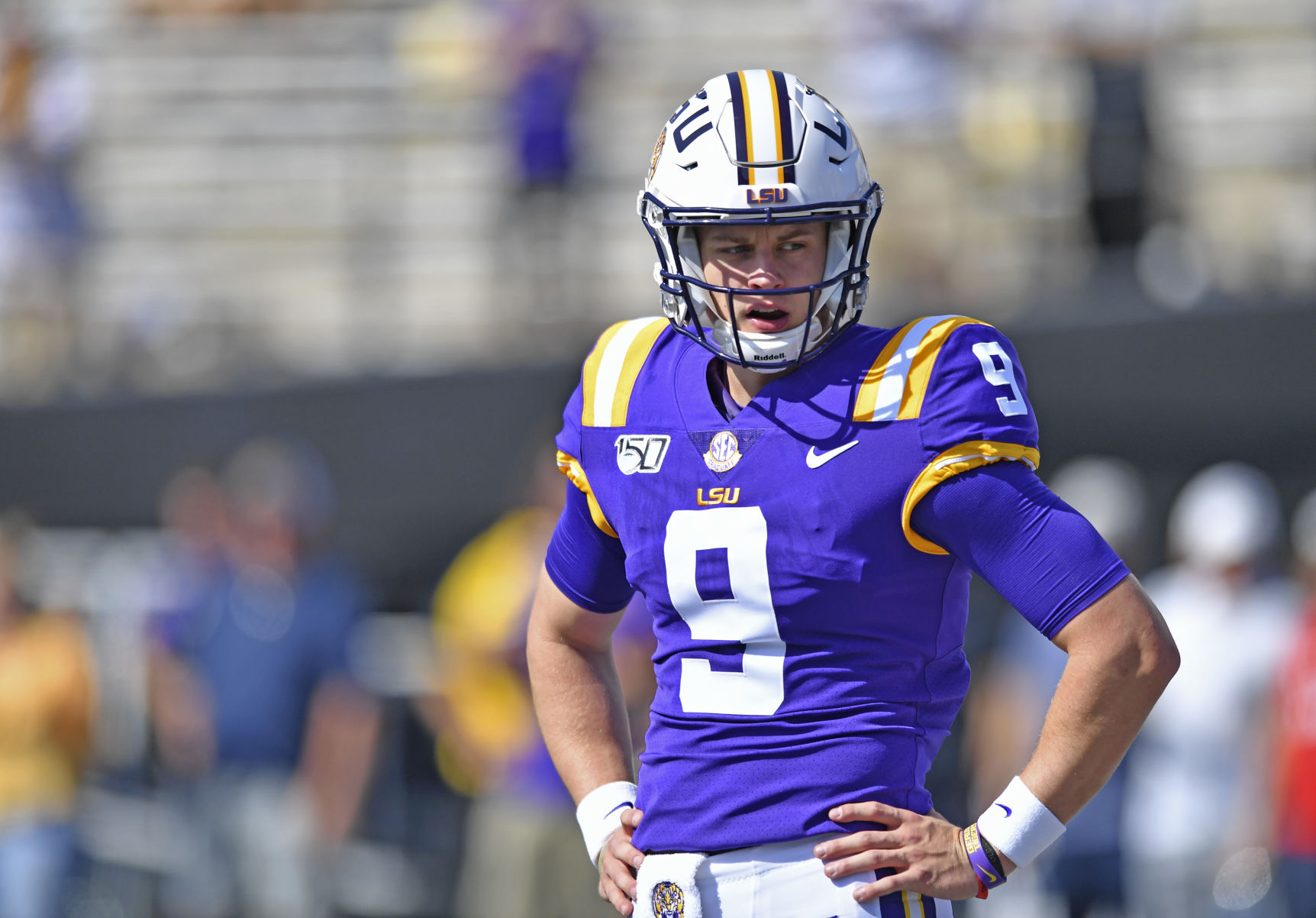 LSU's Joe Burrow named SEC Offensive Player of the Week for third time this season