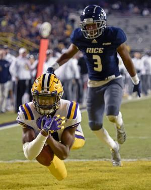 Peek at LSU vs. Rice film: Tigers find offensive identity; How'd Myles Brennan do in season debut?