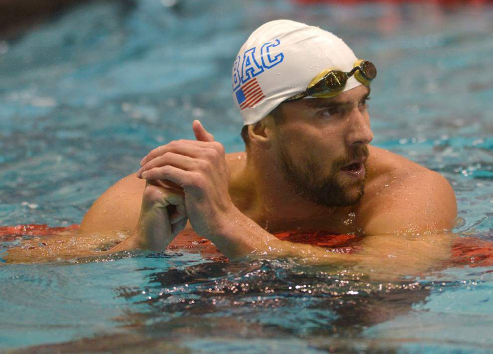 Michael Phelps beaten by Yannick Agnel in 100-meter freestyle _lowres