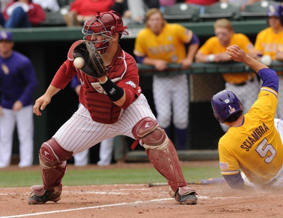"LSU RHP Jake Godfrey has ""best game"" of year; Chris Sciambra emerges _lowres"