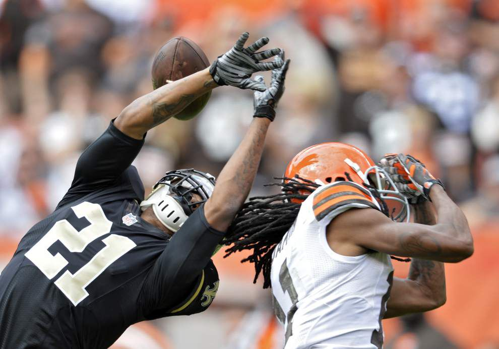 New Orleans Saints cornerback Patrick Robinson's confidence continues to build _lowres