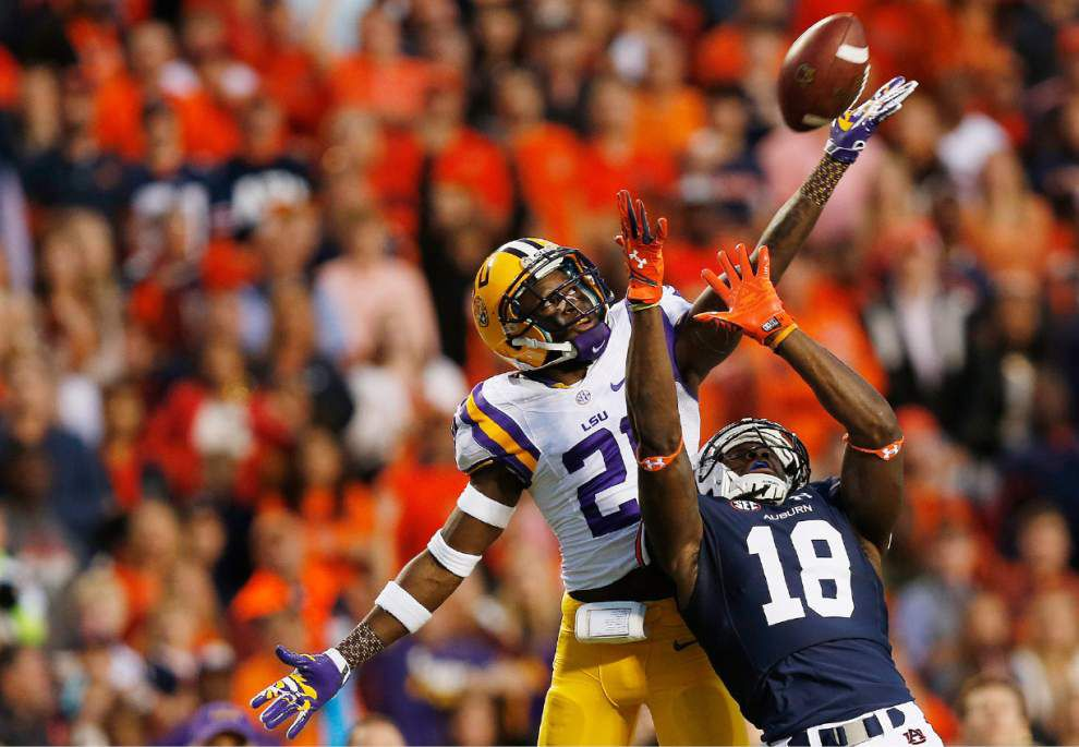 Video: LSU cornerback Rashard Robinson says he jumped too early on the Sammie Coates touchdown _lowres