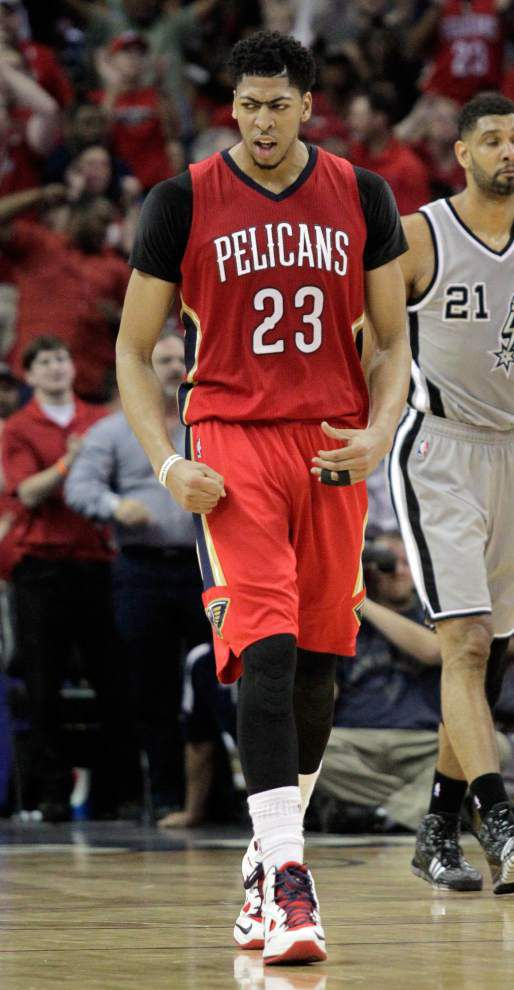 Report: Pelicans plan to offer max $140M five-year contract for Anthony Davis _lowres