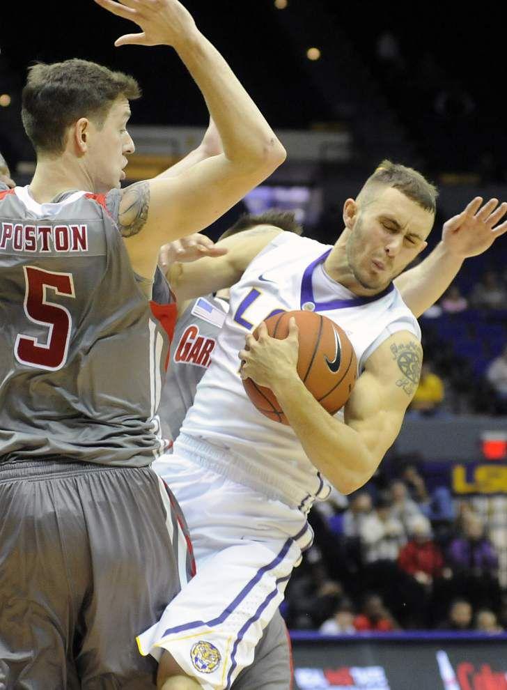LSU basketball team gets back to grind; hosts Sam Houston State _lowres