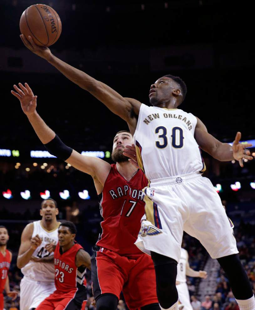 Former Miami Heat guard Norris Cole has given Pelicans a boost with his defense and experience _lowres