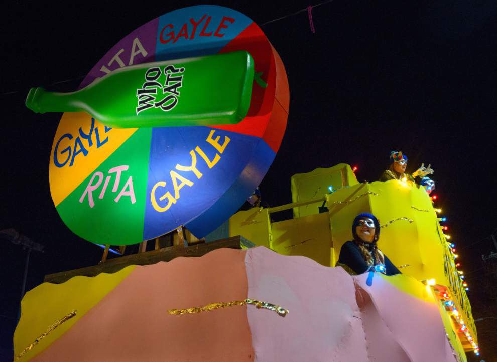 Stephanie Grace: Tom Benson, Brian Williams, Bobby Jindal, the Landrieus ... New Orleans' Mardi Gras floats 'gave everyone an awful lot to laugh at' _lowres