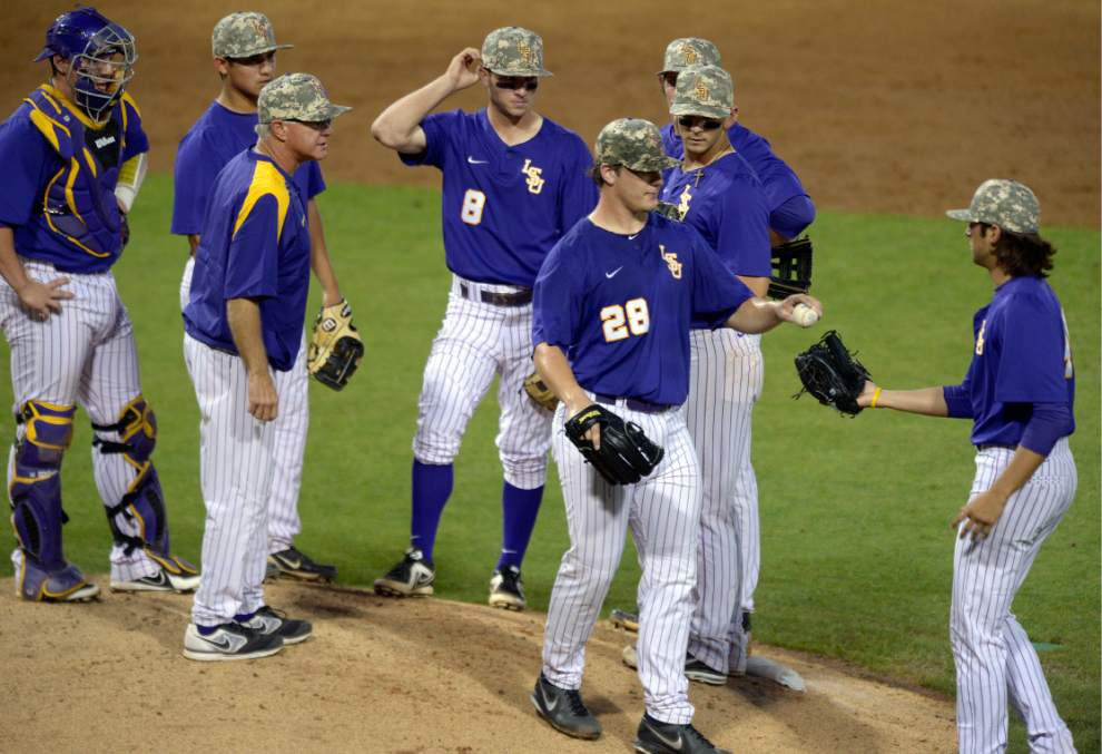 The SEC scenarios for the LSU baseball team _lowres
