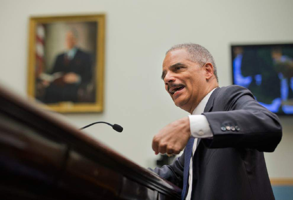 Holder urges approval of $15M for shooter training _lowres
