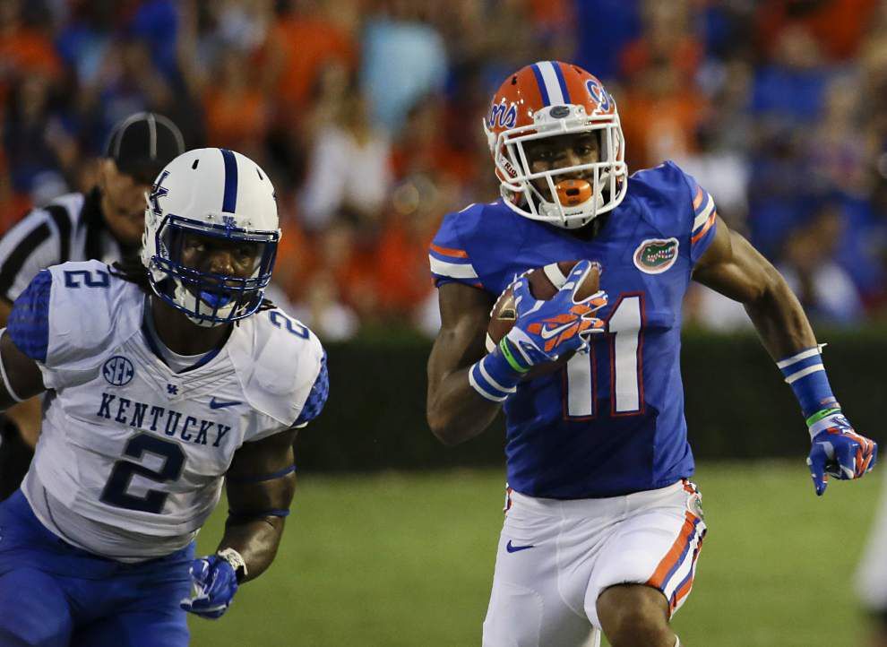 The other side: Florida WR Demarcus Robinson _lowres