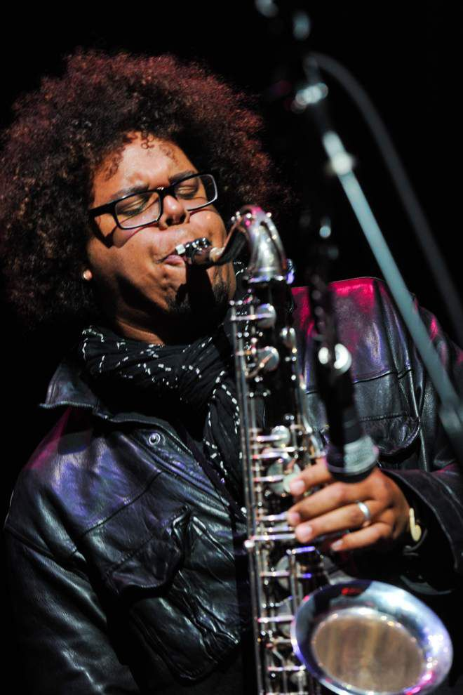 Springsteen sax player Jake Clemons channeling uncle's spirit _lowres