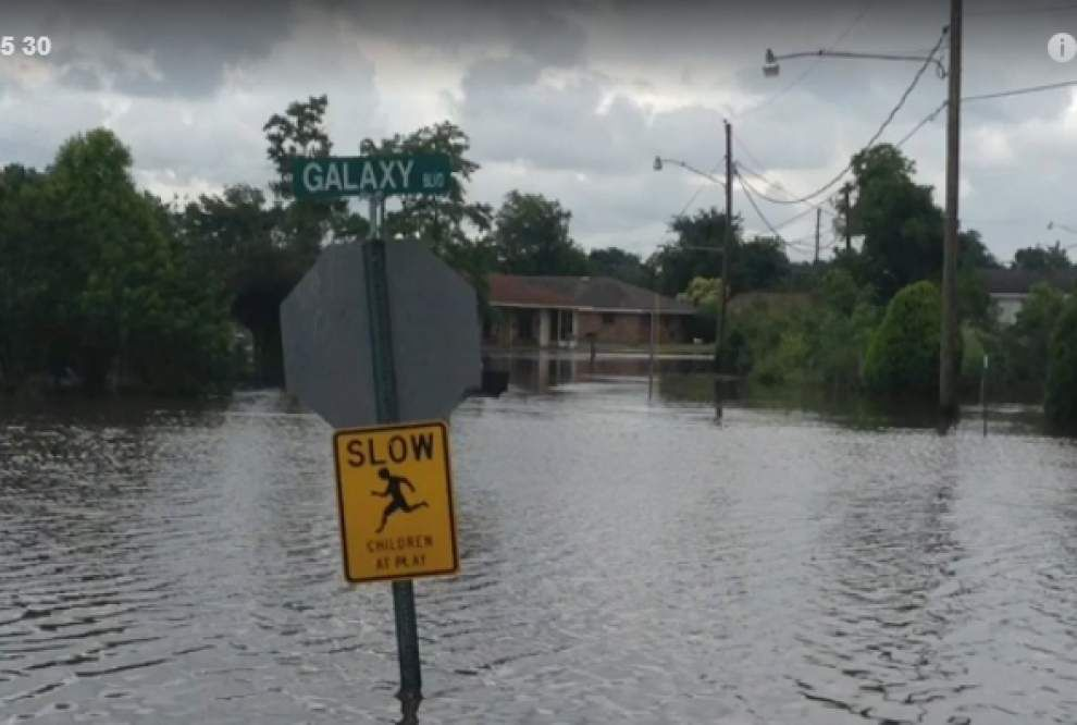 Video: Flooding still a concern in parts of Ascension _lowres