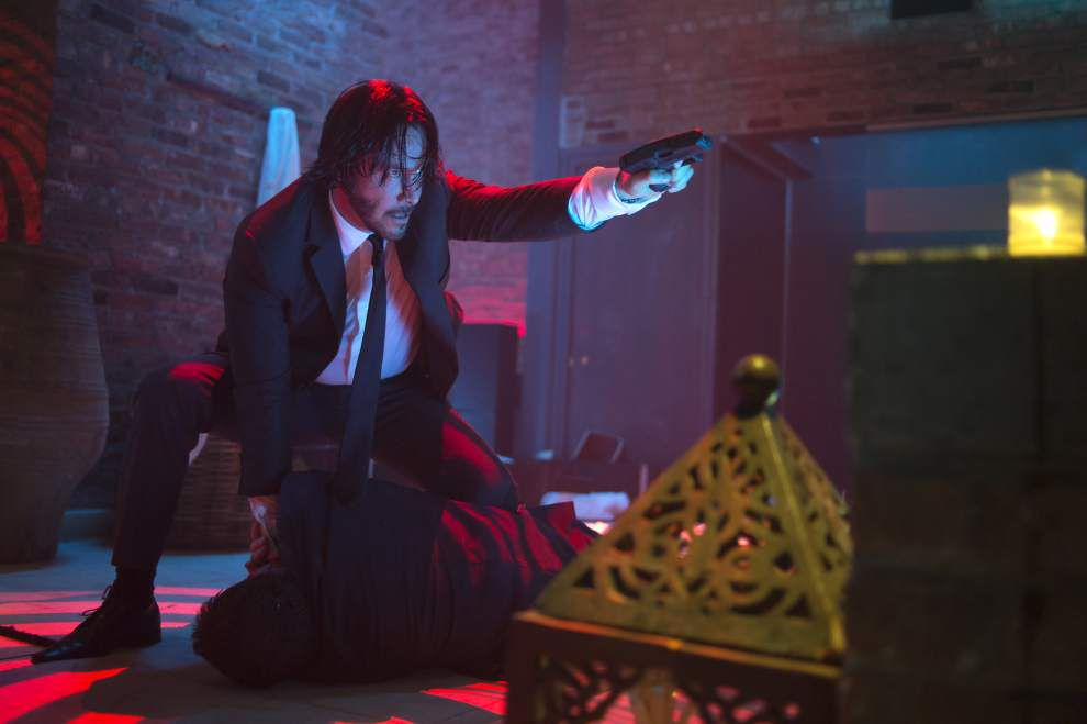 'John Wick' both slick and stupid _lowres