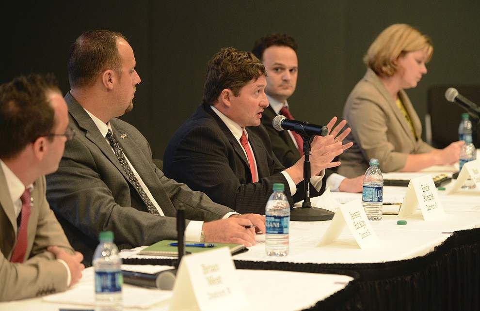 Lafayette school board candidates talk about superintendent tensions _lowres