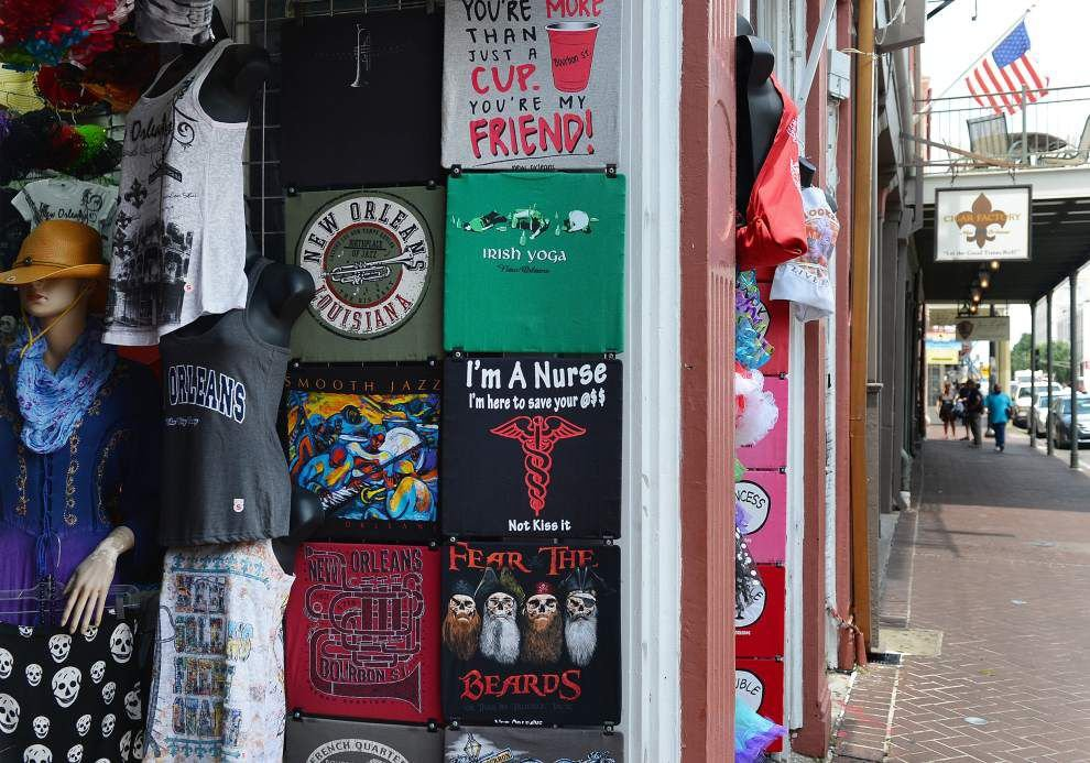 Fight over French Quarter T-shirt shops lands in court _lowres