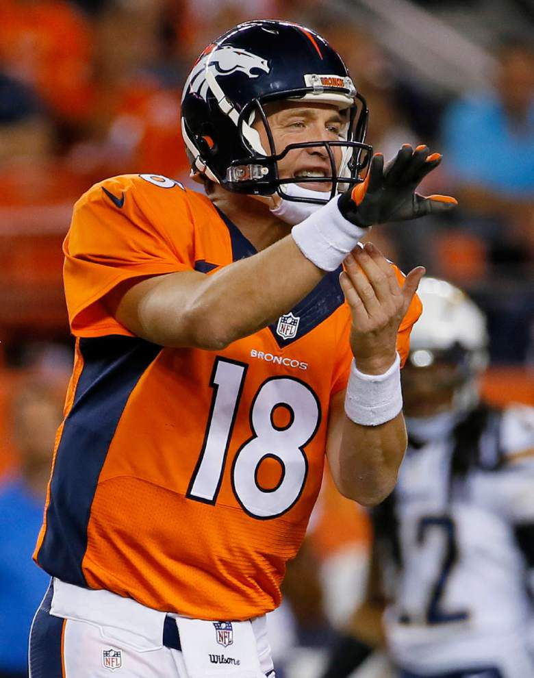 Patriots defense preps to slow Broncos' Peyton Manning _lowres