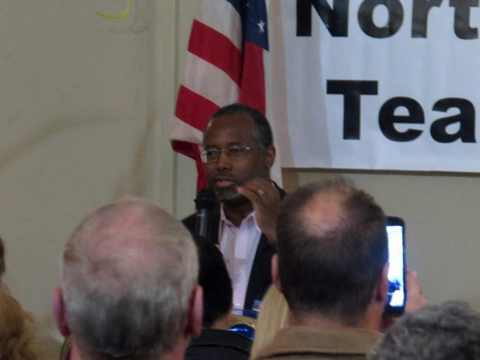 Dr. Ben Carson and tea party group rally for Bill Cassidy _lowres