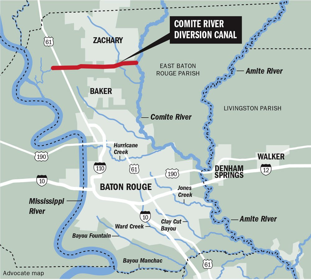 After Nearly Two Decades Comite River Yet To Be Built