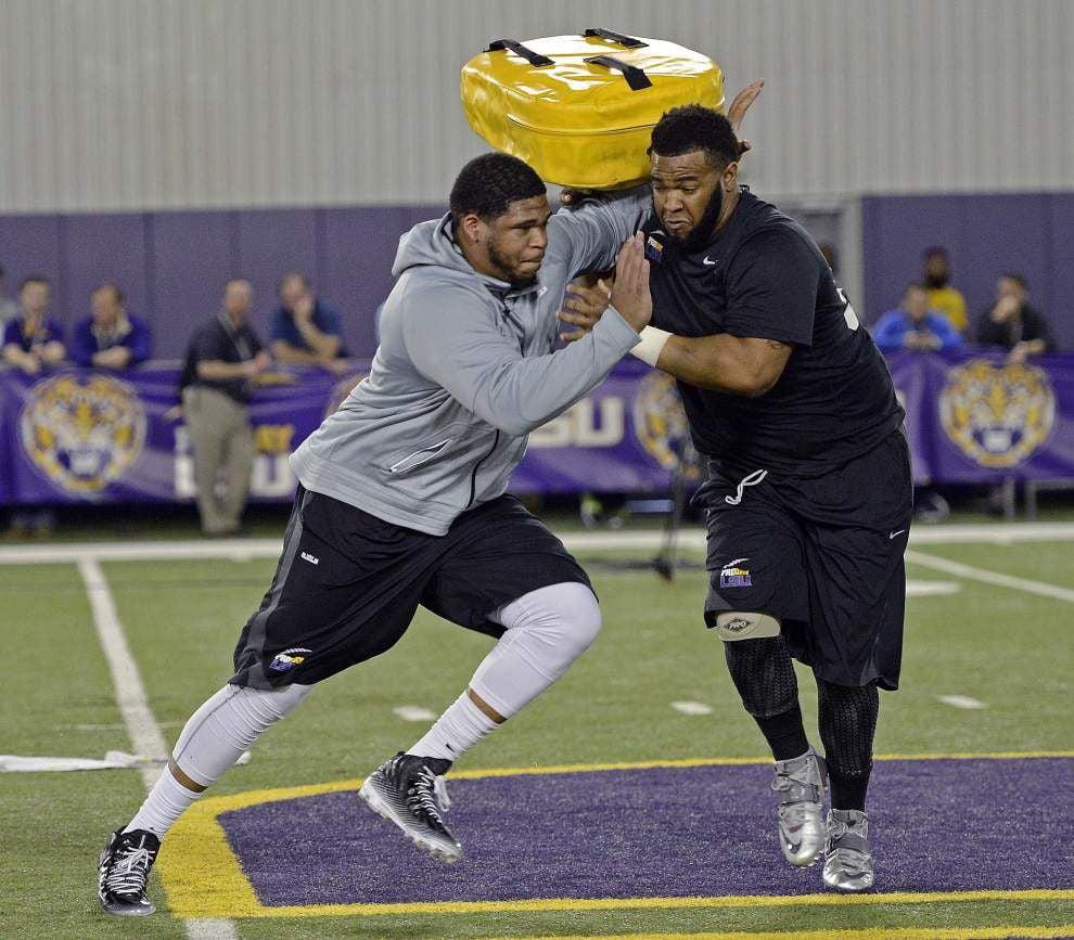 Sources: Super Bowl champion New England Patriots latest in list of teams pursuing ex-LSU lineman La'el Collins _lowres