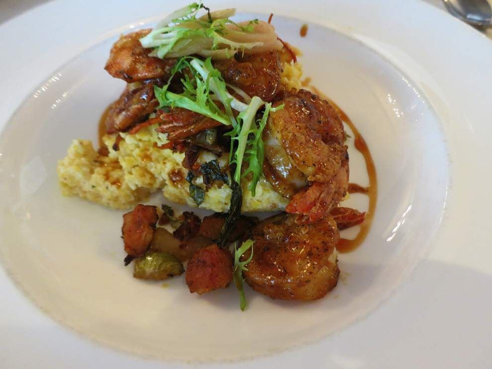 Digging In: BBQ shrimp get a Far East aspect at Cafe Adelaide _lowres
