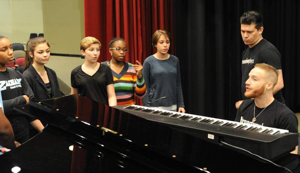 Students perform Broadway number _lowres