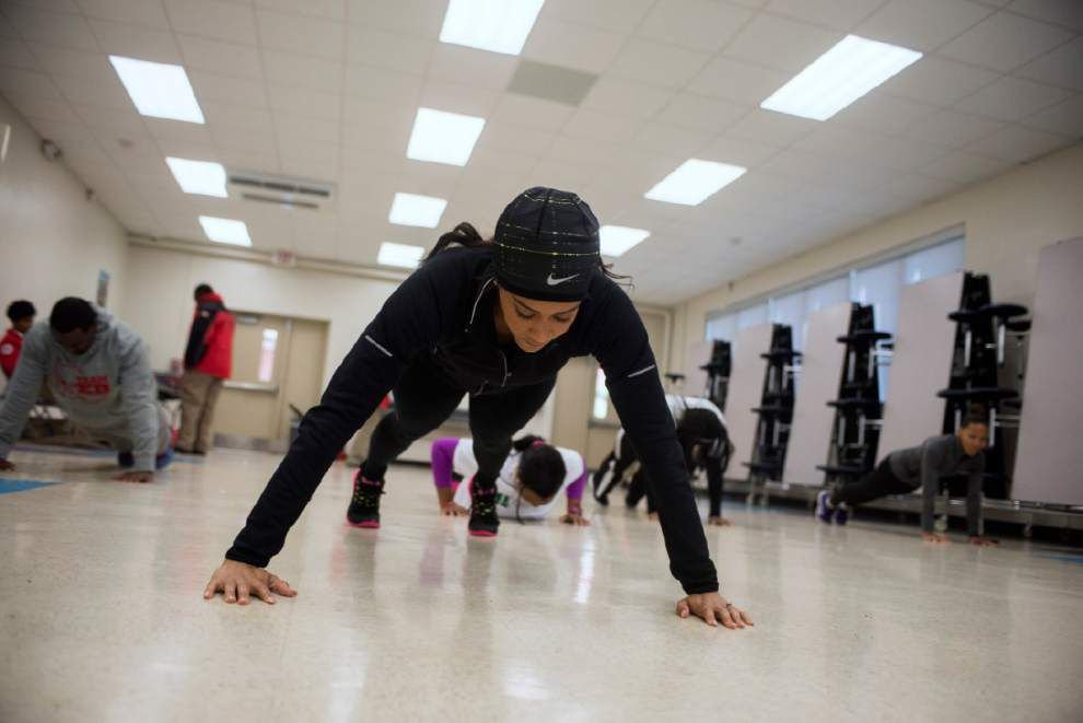 Photos: Brookstown Middle Magnet School fitness _lowres