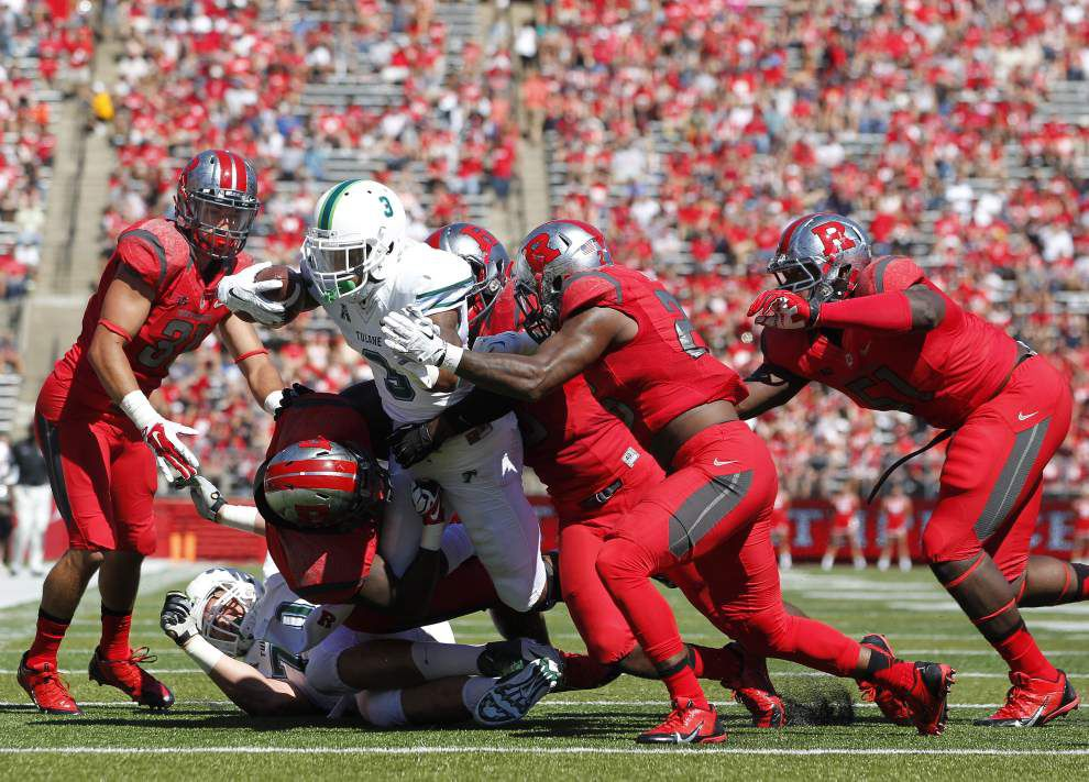Rutgers 31, Tulane 6: Three-and-out _lowres