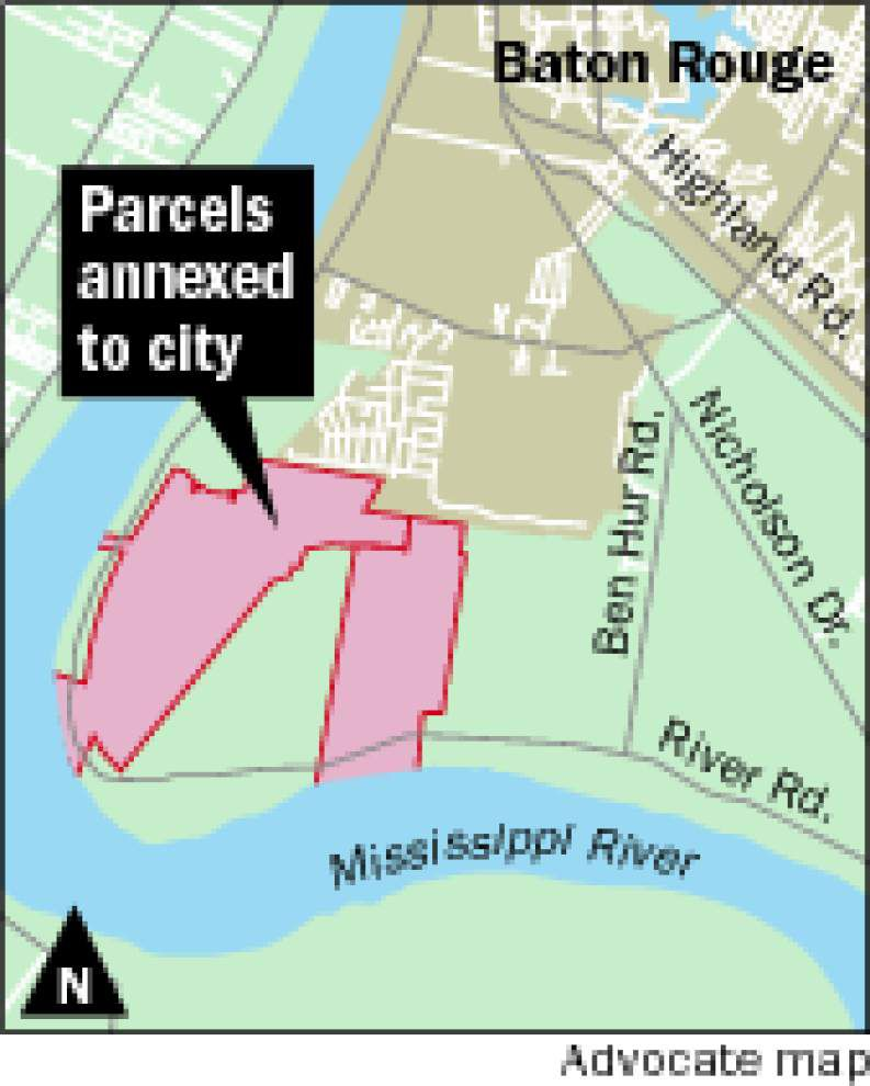 Metro Council annexes two more parcels of land, cutting through proposed St. George area _lowres