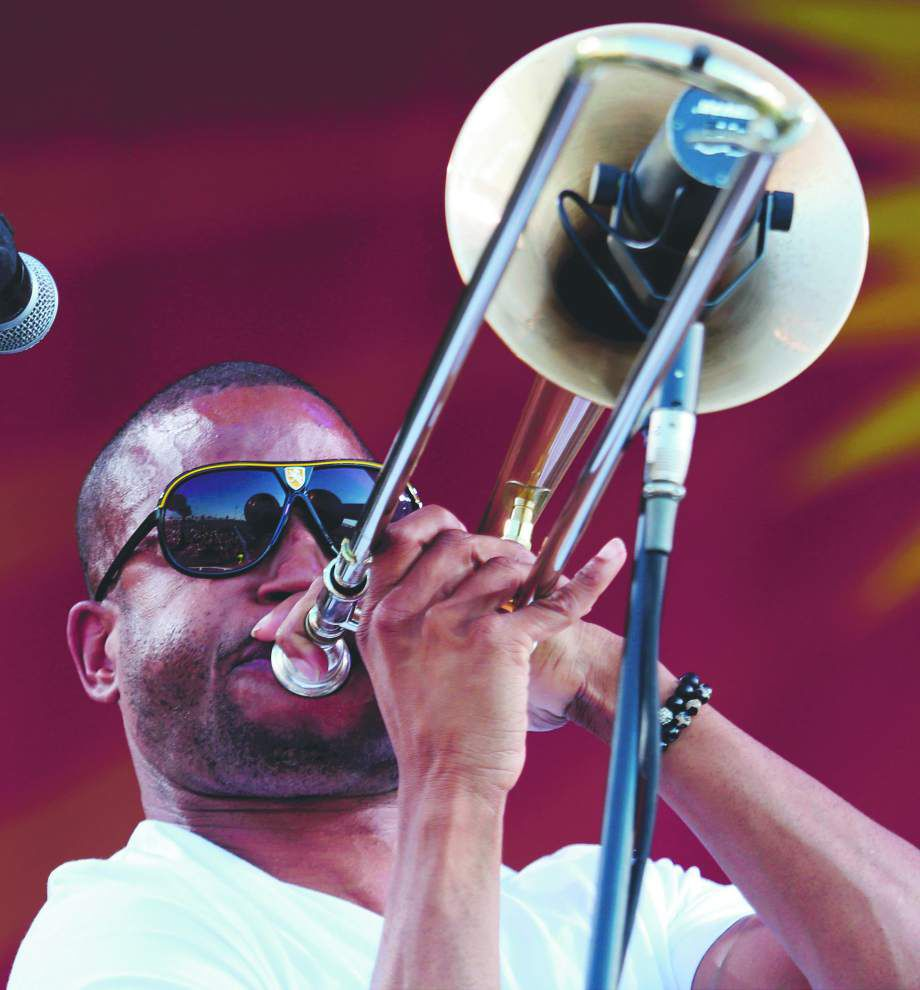 Trombone Shorty: 'I wanted to see if I could save some kids' lives through music'; New Orleans musician builds a foundation, writes books for youths _lowres