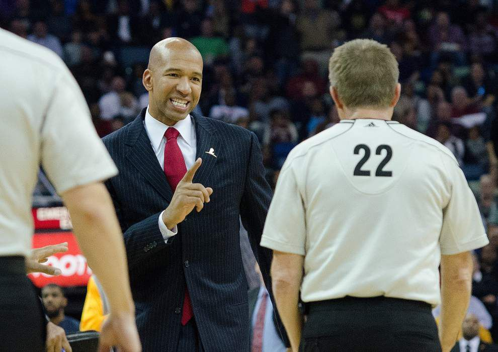 Video: Pelicans coach Monty Williams praises his players for going all out in their 128-122 overtime loss to Golden State _lowres