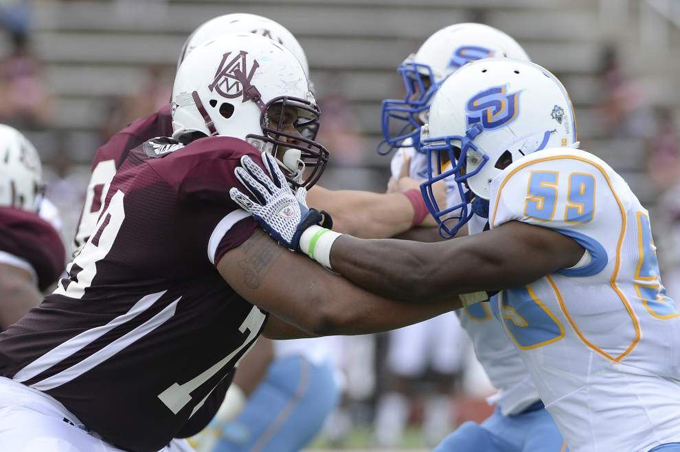 Southern survives another close call against Alabama A&M _lowres