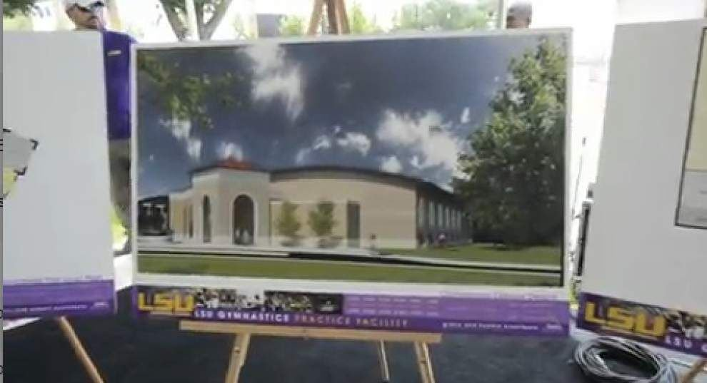 Video: LSU gymnastics associate Head coach Jay Clark discusses the new training facility _lowres