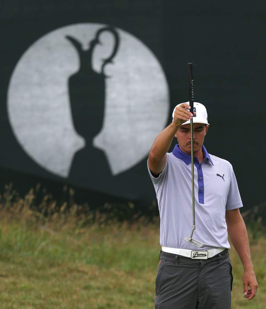 Rickie Fowler faces daunting task in final round _lowres