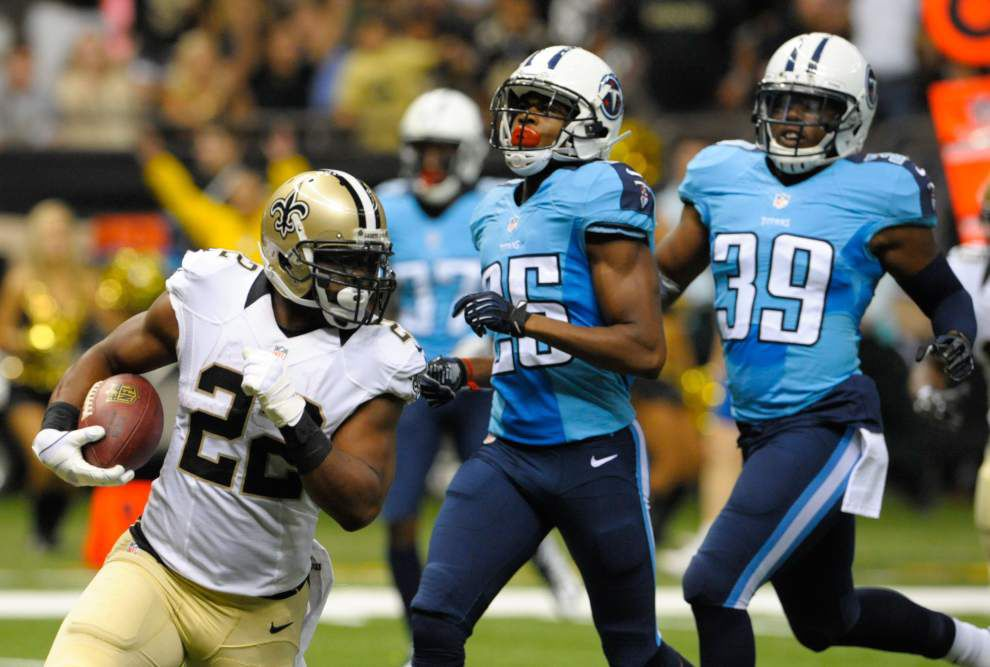 Saints camp report: Mark Ingram aiming to be an every-down running back _lowres