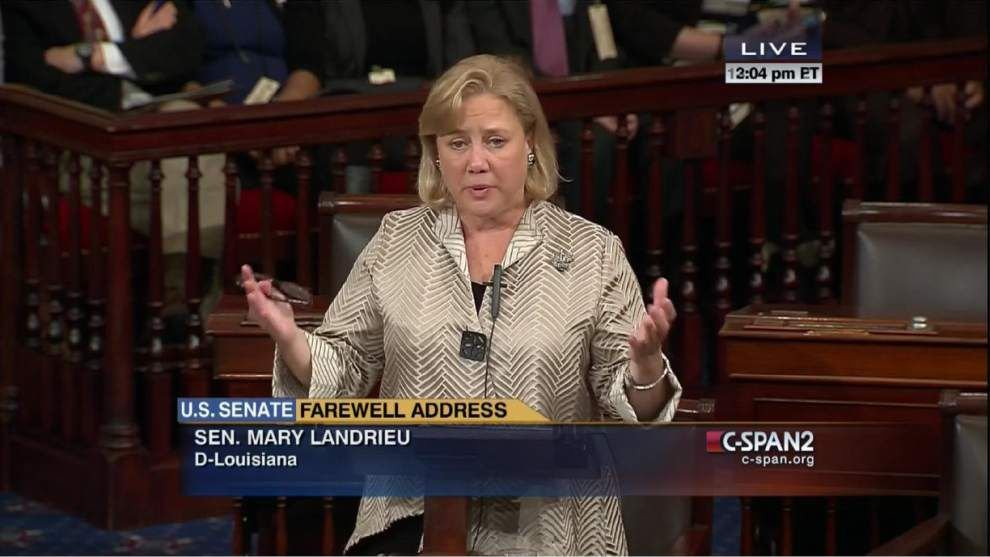 Mary Landrieu talks of 'extraordinary peace' in election defeat _lowres